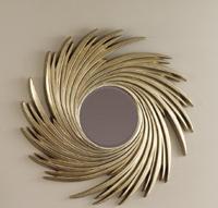 Espejo moderno de poliresina