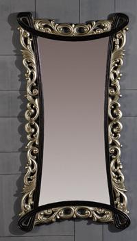 Espejo grande de marco vintage de poliresina