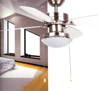 Ventilador  EGADI 91CMS 4 PALAS NICKEL - Ventilador  EGADI 91CMS 4 PALAS NICKEL