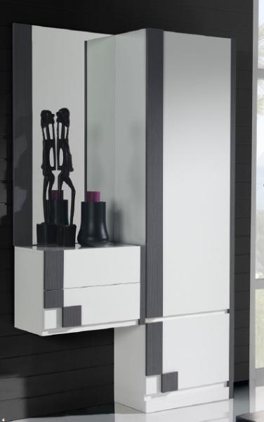 Armario zapatero blanco armarios dormitorios muebles de for Interior armario zapatero