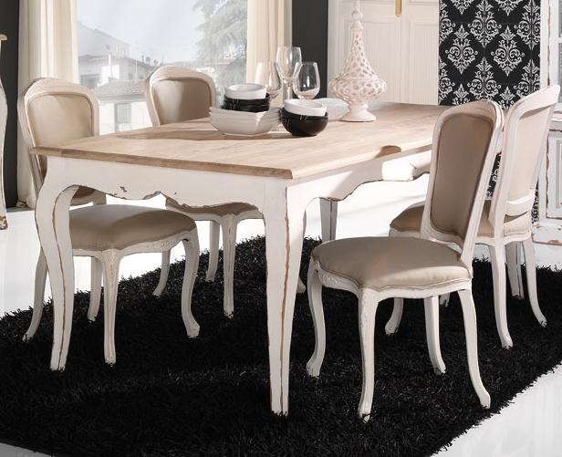 Silla tapizada blanca antigua for Sillas blancas tapizadas