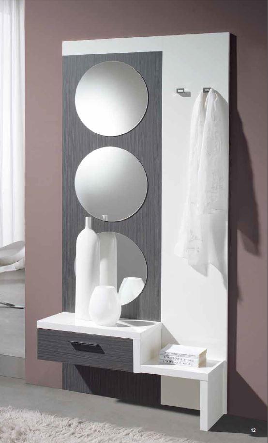 Recibidor espejo lunas circulares unica pieza barato vigo leon for Espejo joyero barato
