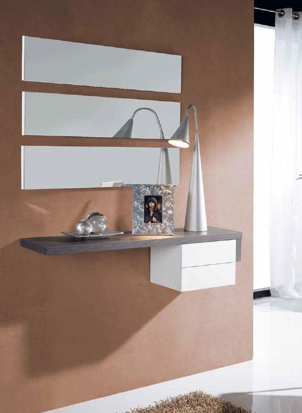 Recibidor juego espejos horizontales barato soria gijon for Espejos de entrada