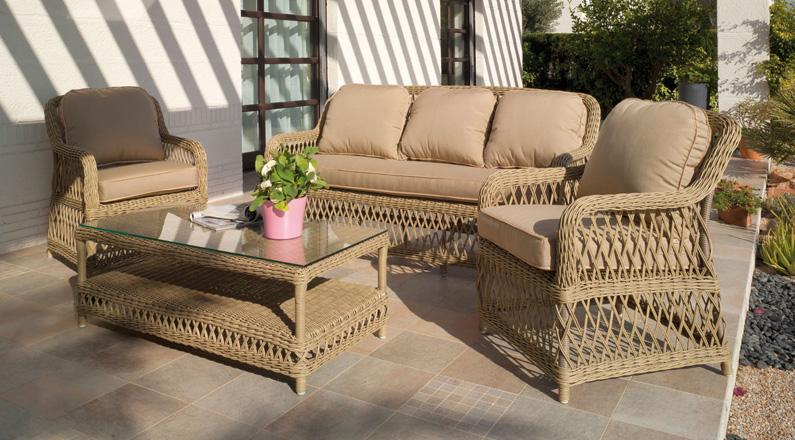 Los muebles de mimbre - Muebles de jardin en barcelona ...