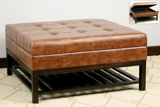 Baul grande cuadrado pie de cama for Banco baul exterior
