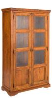 Vitrina Chateaux en madera rustica - Vitrina Chateaux en madera rustica