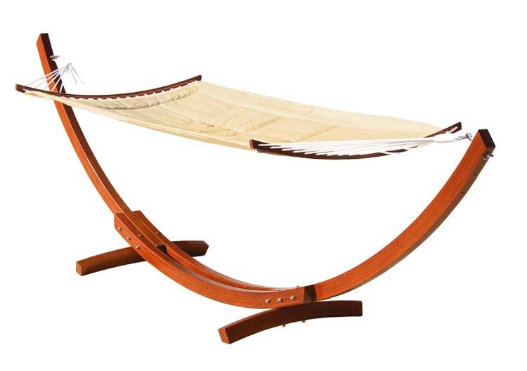 Hamaca elite de lujo madera eucalipto - Estructura hamaca ...