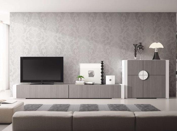 Mia home mueble de sal n moderno composici n 1 gamma for Composicion salon moderno