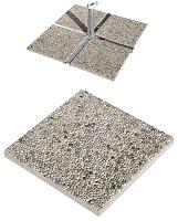 Losas de granito para parasoles con base de cruz