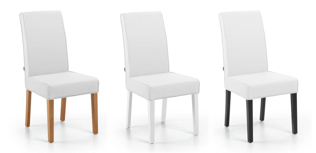 Silla de comedor 1 muebles de comedor muebles de for Sillas blancas comedor