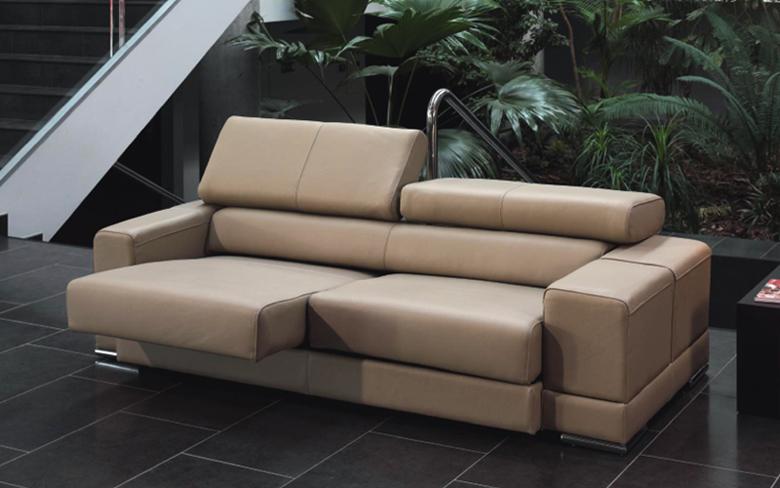 Sofá moderno piel espesorada modelo DADOS - Sofá moderno piel espesorada modelo DADOS