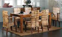 Mesa de comedor o silla en Ratán J148/J150 - Mesa de comedor o silla en Ratán J148/J150