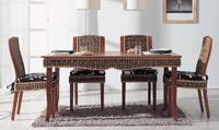 Mesa de comedor o silla en Ratán J915/J919 - Mesa de comedor o silla en Ratán J915/J919