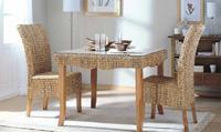 Mesa de comedor o silla en Ratán J928/J938 - Mesa de comedor o silla en Ratán J928/J938