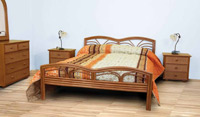 Dormitorio de ratan Modelo J820 - Dormitorio de ratan Modelo J820