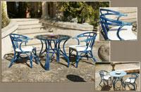 Sillón o mesa en ratan J254/J256 - Sillón o mesa  en ratan J254/J256