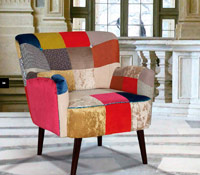 SILL�N PATCHWORK - SILL�N PATCHWORK DISE�O MODERNO
