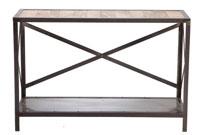 Recibidor en madera y metal - Recibidor en madera y metal