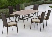 Set sillas o mesa mosaico modelo Altamira/Bergamo 200 - Set sillas o mesa mosaico modelo Altamira/Bergamo 200