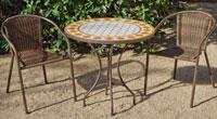 Set sillas o mesa mosaico modelo Salamanca/Brasil 75 - Set sillas o mesa mosaico modelo Salamanca/Brasil 75