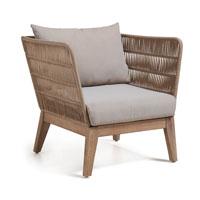 Sill�n Bellano - Sill�n Bellano fabricado en madera de acacia en blanco patinado