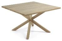 Mesa cuadrada - Mesa de comedor con pies de acero
