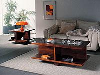 Mesa de rincón 3017 madera maciza