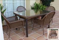 Set de mesa para exterior Asturias - Set de mesa de exterior Asturias