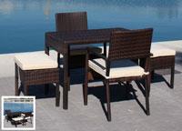Set de mesa para exterior Java - Set de mesa de exterior Java