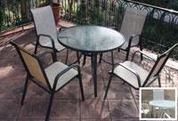 Set de mesa para exterior Rios - Set de mesa de exterior Rios