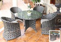Set de mesa para exterior Sancti Petri - Set de mesa de exterior Sancti Petri
