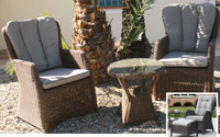 Set de sillones y mesa Madeira - Set de sillones y mesa Madeira