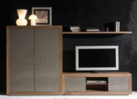 Conjunto de muebles de TV - Conjunto de saln con muebles de TV