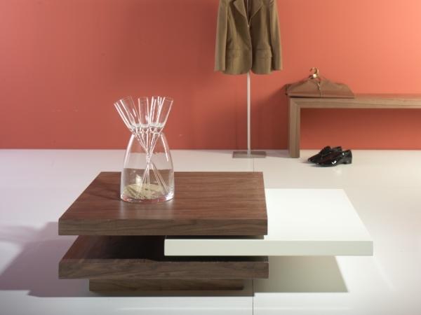 Mesa baja de sal n cuadrada mesas bajas de sal n muebles - Mesa baja salon ...