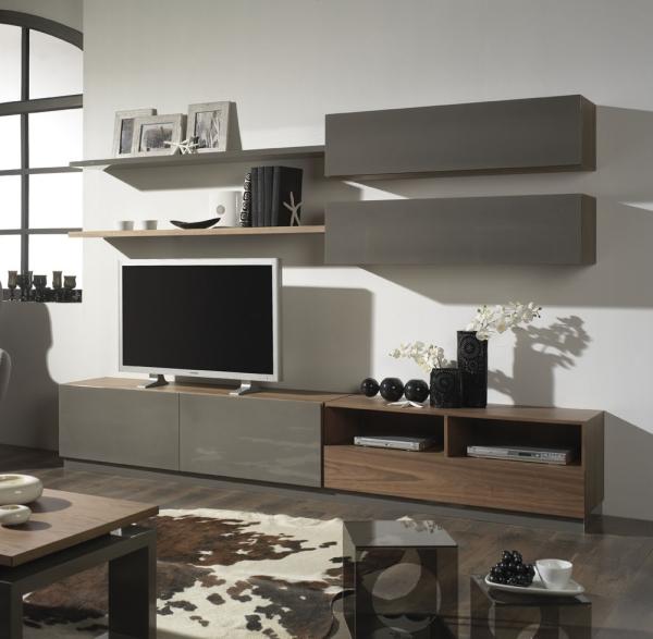 Conjunto de muebles de sal n muebles de interior muebles for Conjunto muebles salon