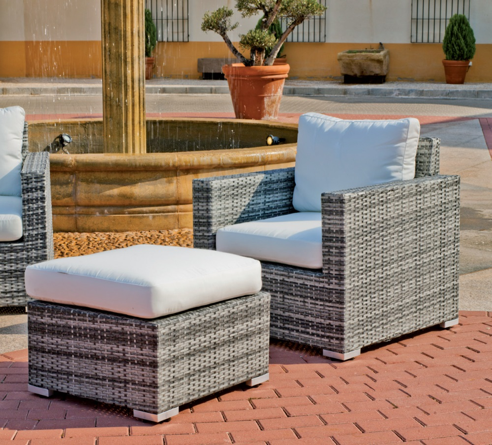 Set de muebles de exterior for Sofa exterior oferta