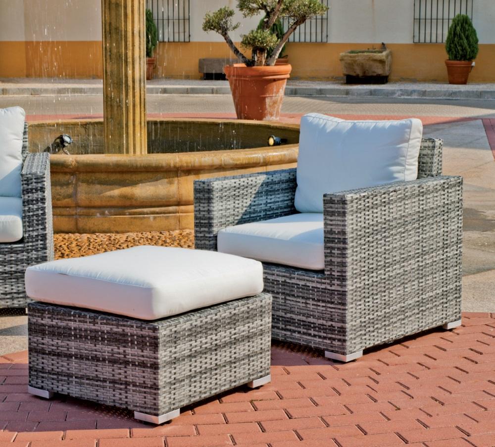 Set de muebles de exterior for Oferta muebles exterior