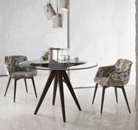 Mesa de comedor redonda August A o silla JAX - Mesa de comedor redonda August A o silla JAX Los precios se muestran por separado