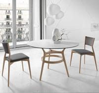 Mesa de comedor redonda o silla Leger - Mesa de comedor redonda o silla Leger Los precios se muestran por separado