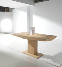 Mesa de comedor Nordic - Mesa de comedor Nordic en madera maciza.