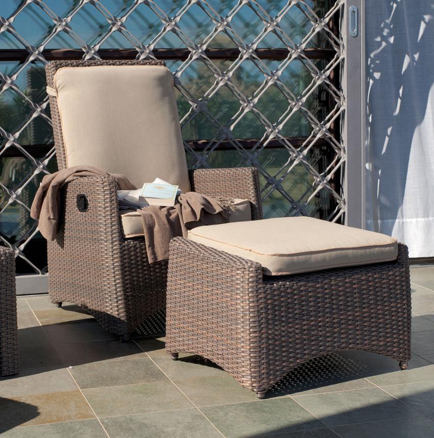 Set de sof sillones y mesa para exteriores orion muebles for Sillones para exteriores precios