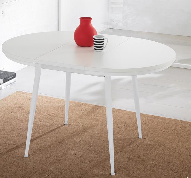 Habitaciones de bebe con mobiliario de ikea for Mesas ovaladas para comedor