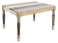 Mesa de comedor SP 120x100 - Mesa de comedor SP 120x100 en madera de mindi