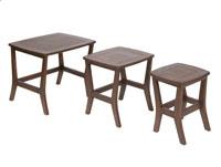 Set 3 mesas bajas de sal�n - Set 3 mesas bajas de sal�n tipo nido