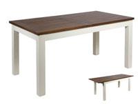 Mesa extensible o silla Lucca - Mesa extensible o silla Lucca en madera de mindi