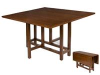 Mesa de libro cuadrada - Mesa de libro cuadrada, fabricado en madera de acacia