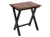 Mesa auxiliar Batik - Mesa auxiliar Batik en madera de acacia