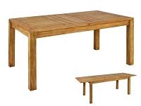 Mesa extensible Chicago - Mesa extensible Chicago en madera de mindi