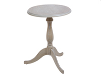 Pedestal redondo Cotage - Pedestal redondo Cotage, fabricado en madera de paulonia,abeto y mdf