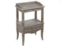 Telefonera con estante Cotage - Telefonera con estante Cotage, fabricado en madera de paulonia,abeto y mdf
